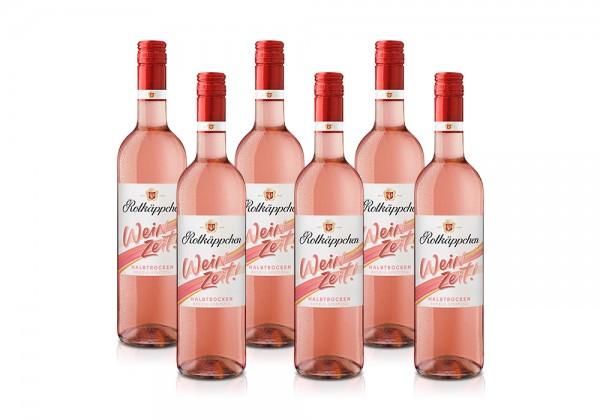Set Rotkäppchen Weinzeit! Rosé Halbtrocken