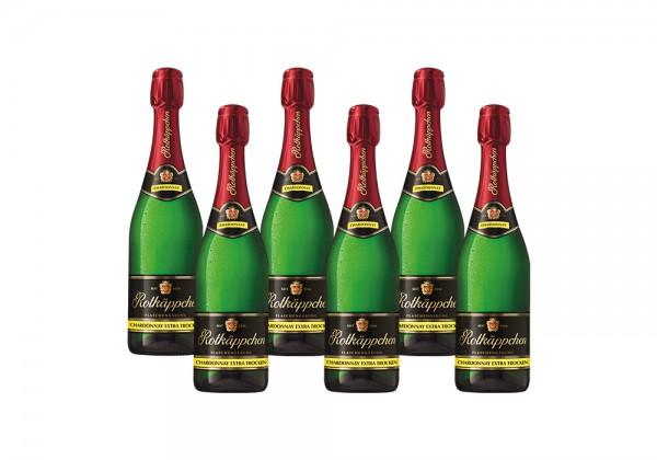 Set Rotkäppchen Flaschengärung Chardonnay Extra Trocken