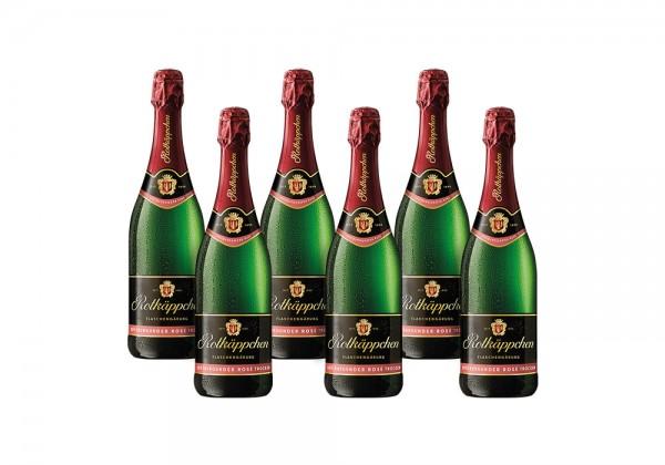Set Rotkäppchen Flaschengärung Spätburgunder Rosé Trocken