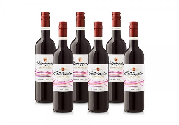 Set Rotkäppchen Wein Spätburgunder Alkoholfrei