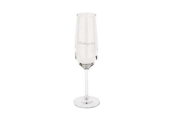 Rotkäppchen Sektglas kurzstielig